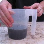 measuring volume of leachate