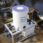 Mobile Accutab chlorintation system