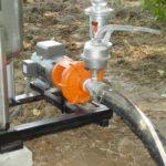 Drip irrigation sand filter priming pump