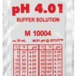 Buffer solution for calibrating pH.